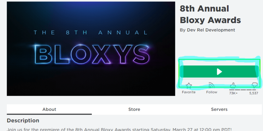 How to watch the 2021 Bloxys.