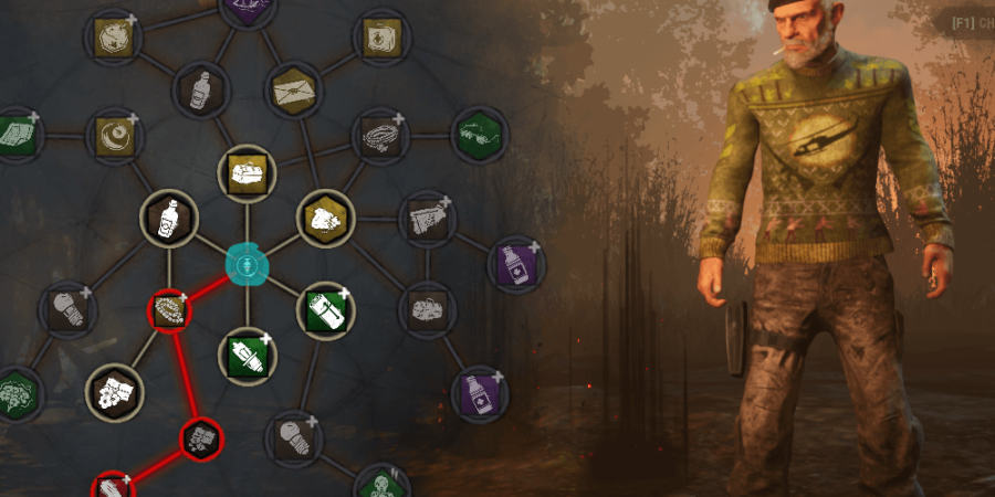 The Prestige icon highlighted in Dead by Daylight.
