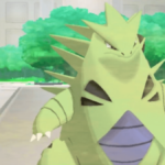 Tyranitar in the Pokemon games.