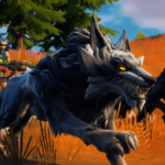 A wolf in a Fortnite Season 6 promo.