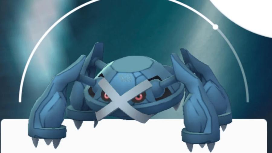 Metagross in Pokemon Go.