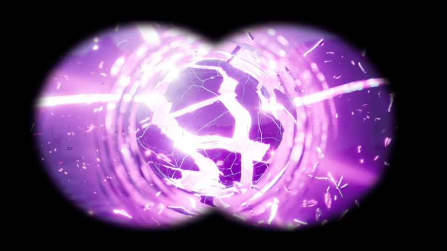 A teaser image from Epic Games of the Zero Point about to explode.