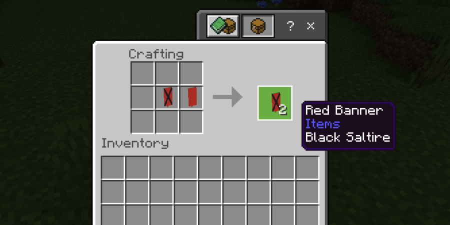 How to copy a Banner in Minecraft.
