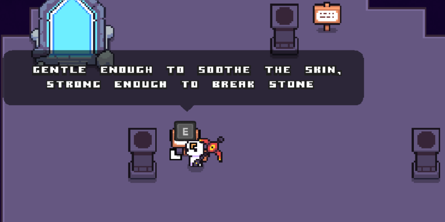 A riddle in the Forager's Skull Galaxy Puzzle.