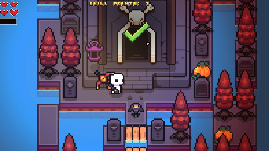 The outside of the Skull Galaxy Puzzle in Forager.