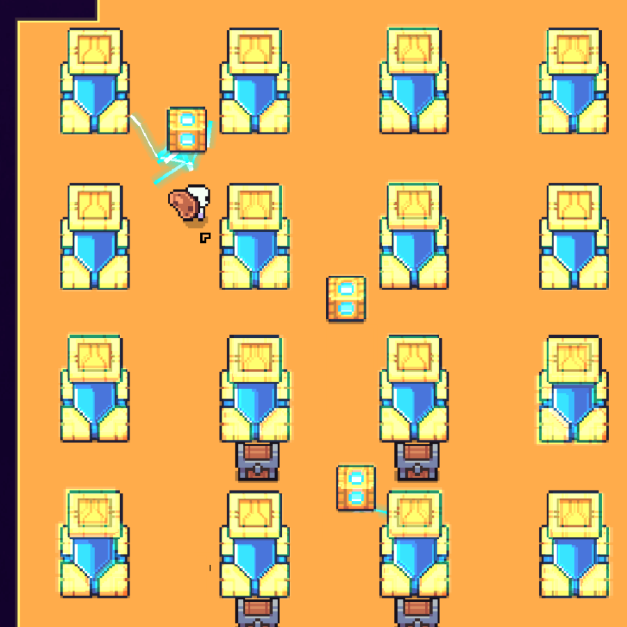 The solution for the ancient Galaxy Puzzle in Forager.