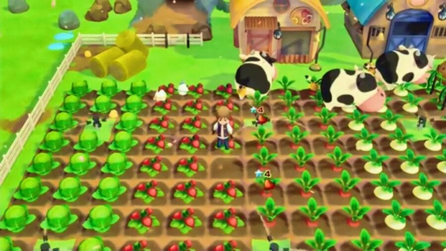 Screenshot of Story of Seasons game play trailer