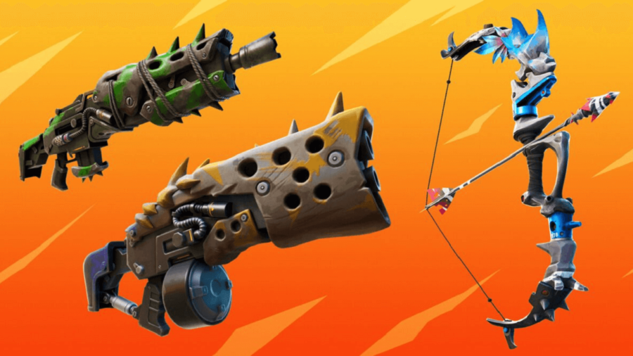 New weapons in Fortnite Season 6.
