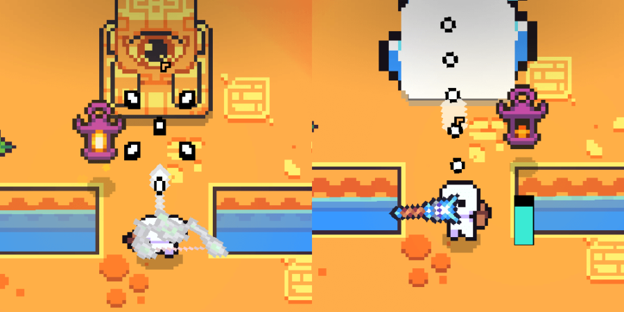 The Forager Eye Statue Puzzle solution.