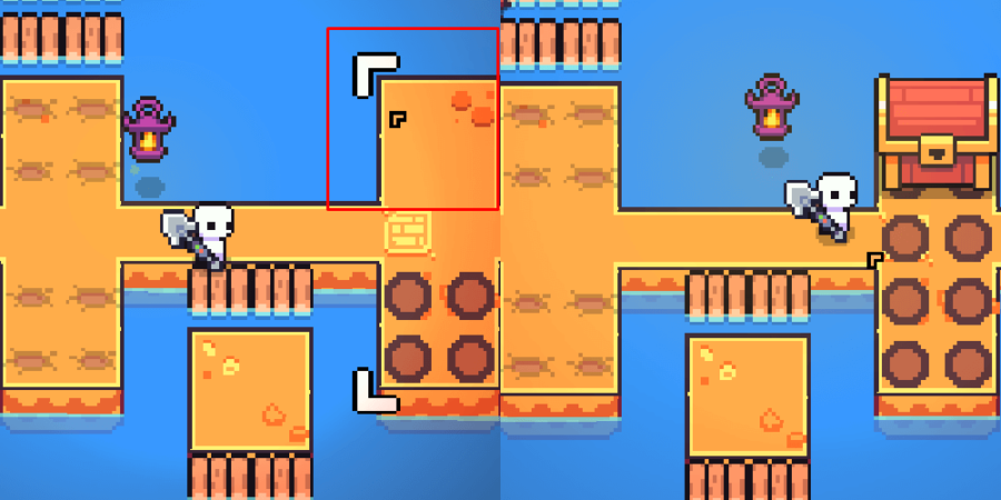 The solution to the Forager Flower Puzzle.