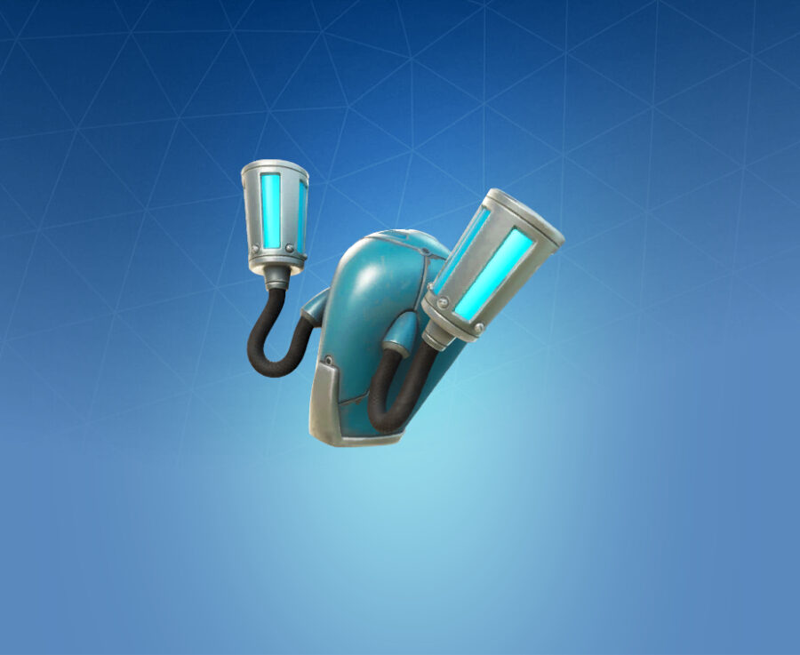 BluGlo Injector Back Bling