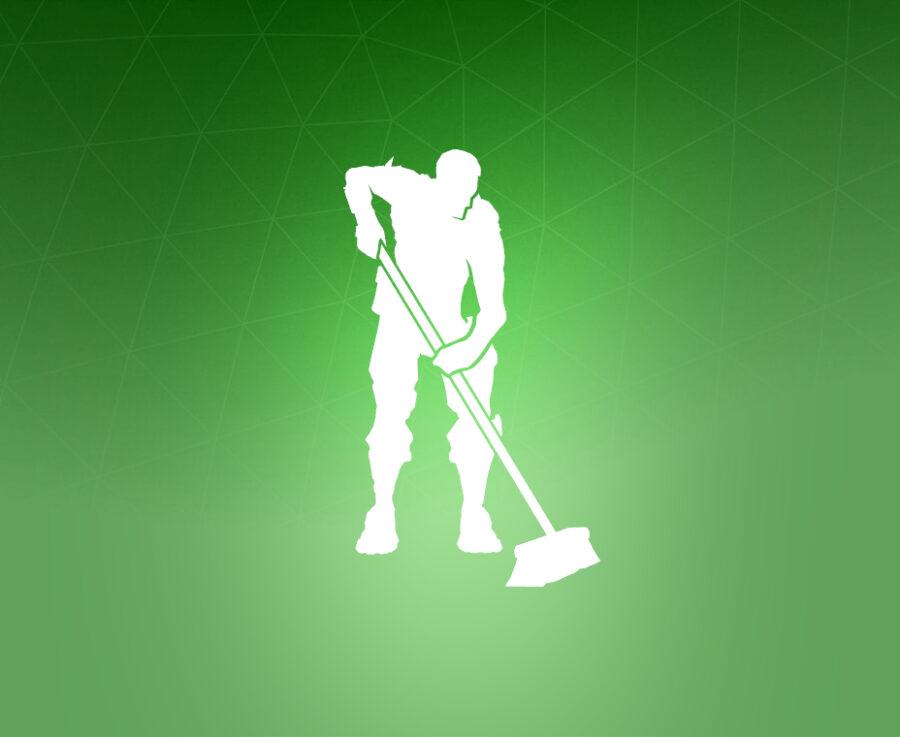 Clean Sweep Emote