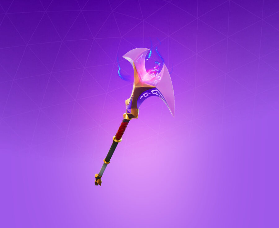 Crystal Axe of the Masters Harvesting Tool