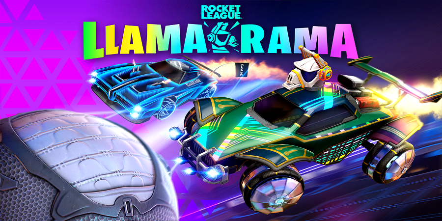 Llama-rama Loading Screen
