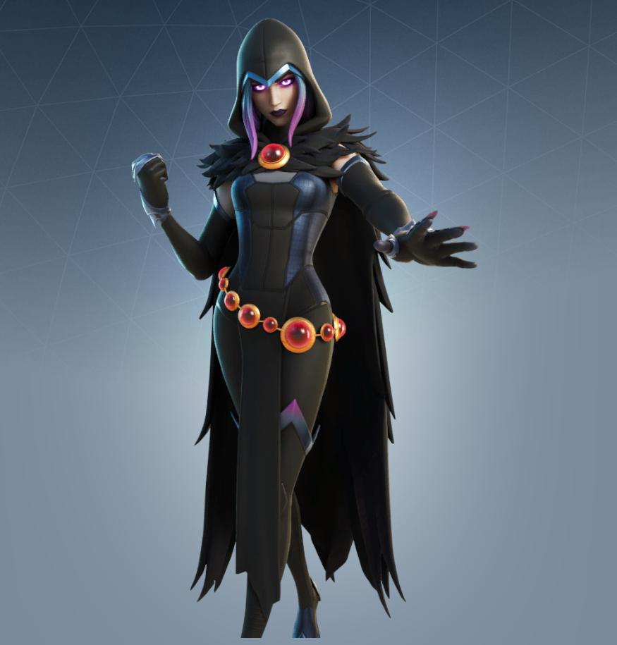 Rebirth Raven Skin