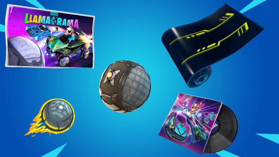 Items released in Fortnite Llama-rama.