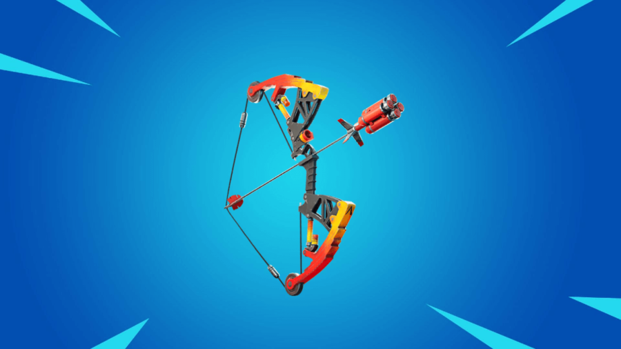 The Mechanical Explosive Bow in Fortnite.