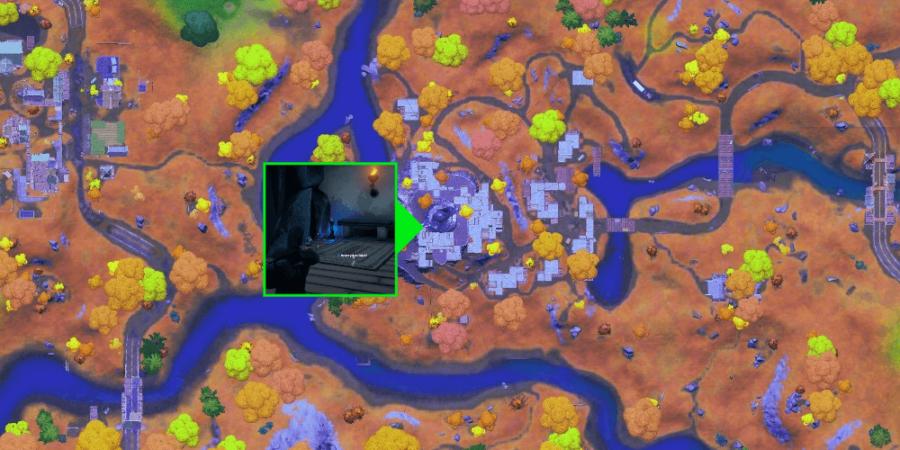 The Spire Artifact location for Raz.
