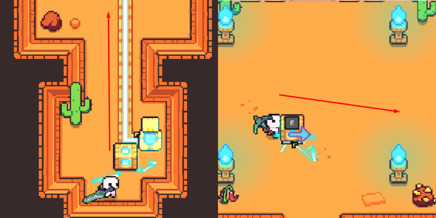 The second steps to solve the Ancient Tomb.