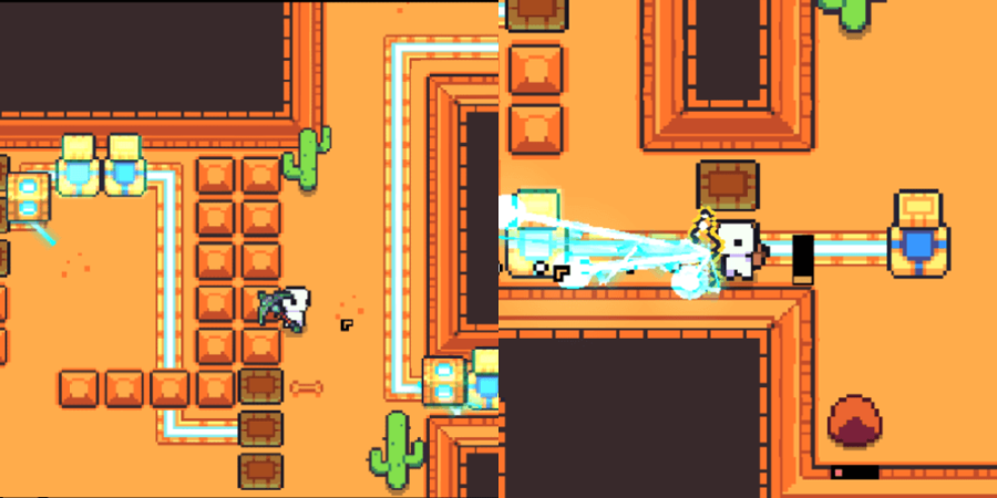 The last steps to solving the Ancient Tomb.