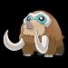Mamoswine in Pokemon.