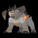 Terrakion in Pokemon.