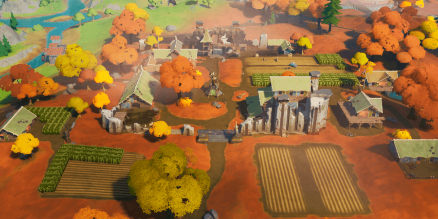 Fortnite POI Colossal Crops.