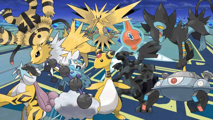 Best Electric Pokemon in Pokemon Go.
