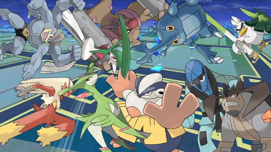 The best fighting Pokemon on Pokemon Go.