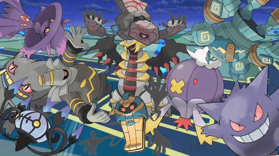 Best Ghost Type Pokemon in Pokemon Go.
