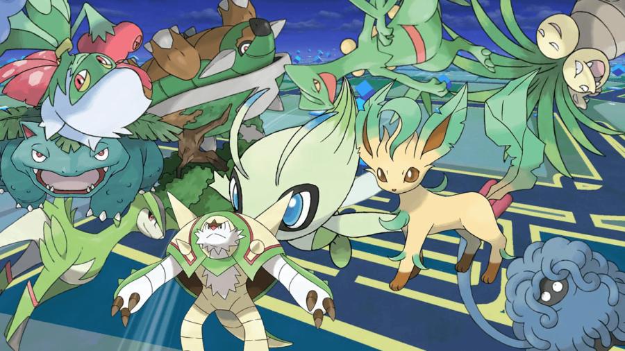 The best grass type pokemon in Pokemon Go.