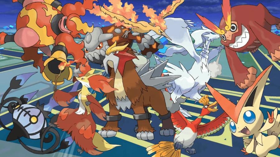 Best fire Pokemon in Pokemon Go.