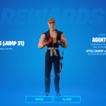 Agent Jones Jump 31 Reward.