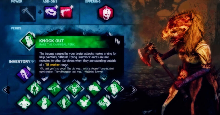 Screenshot of Dead by Daylight gameplay