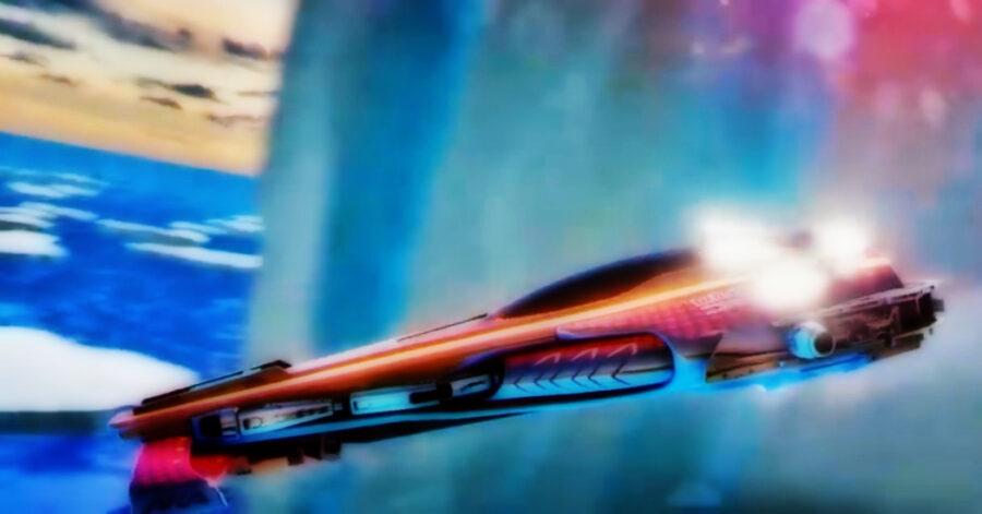 Screenshot of Fast RMX gameplay