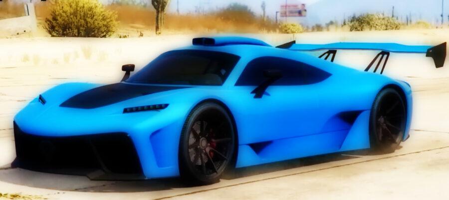 Screenshot of GTA online gameplay