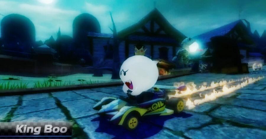 Screenshot of Mario-Kart 8 Deluxe gameplay