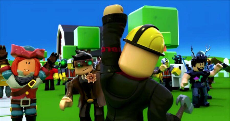 Screenshot of Roblox gameplay trailer