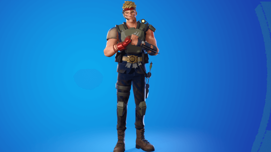 Agent Jonesy Jump 42 Outfit.