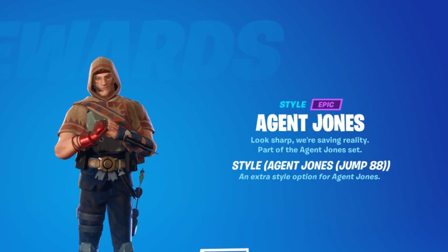 Agent Jones Jump 88 outfit.
