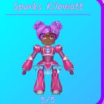 Sparks Kilowatt in Roblox.