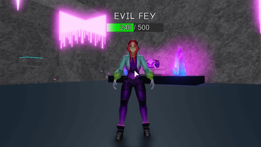 Evil Fey in Melee Simulator.