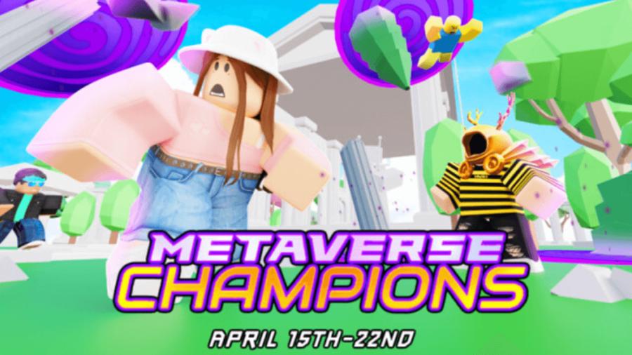 Metaverse Champions promo for God's Island.