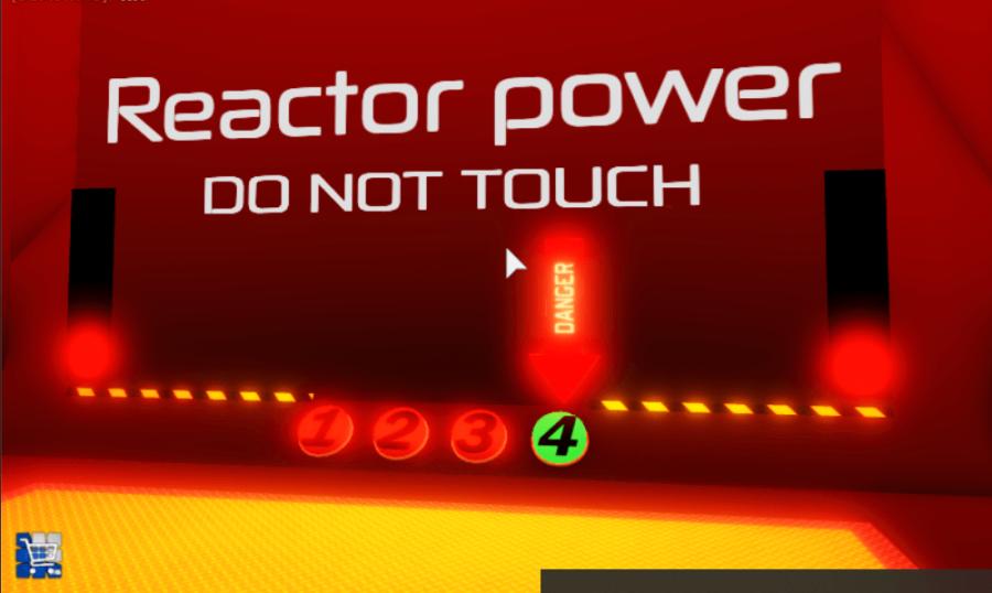 Changing reactor power.