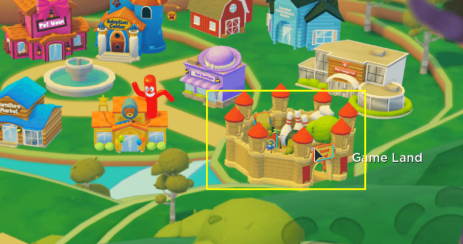 Where to find Game Land in My Droplet