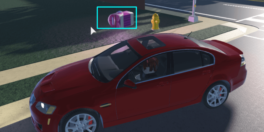 Sparks Package in Ultimate Driving.