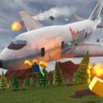 Promo for Roblox Survive a Plane Crash.