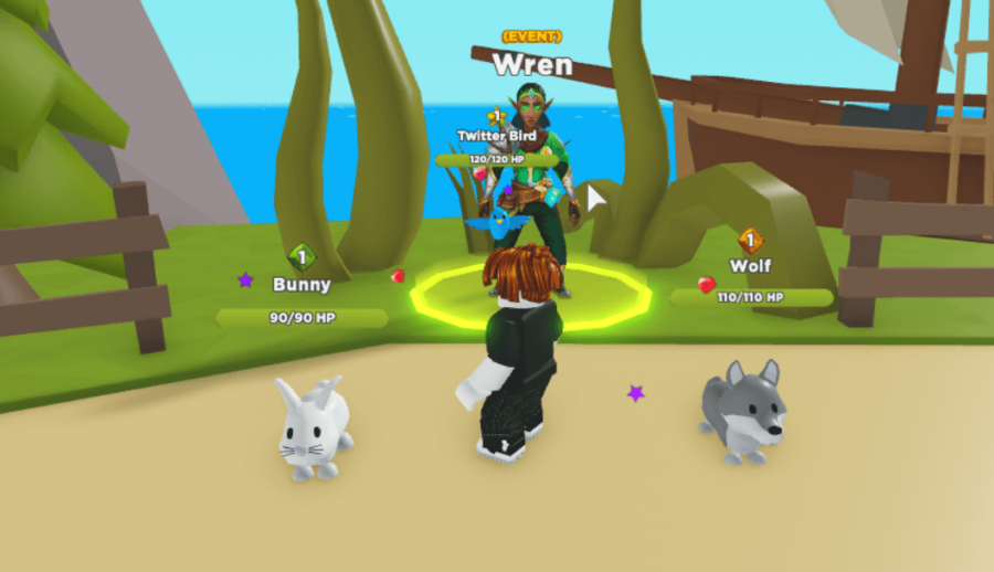 Wren in Pet Heroes.