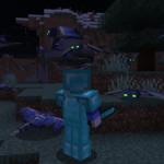 Fighting Phantoms in Minecraft.