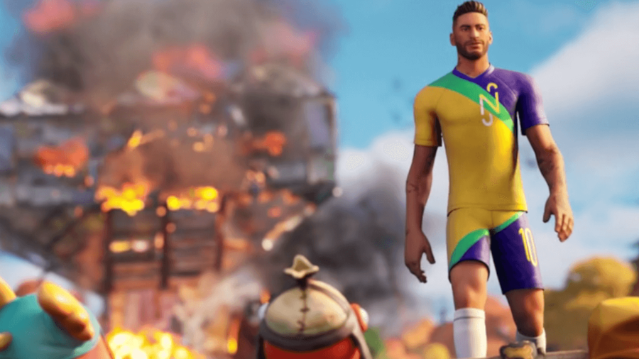 Neymar Jr in Fortnite.